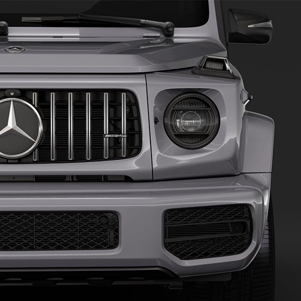Mercedes-AMG G 63 Night Packet W464 2018 - 3DOcean Item for Sale