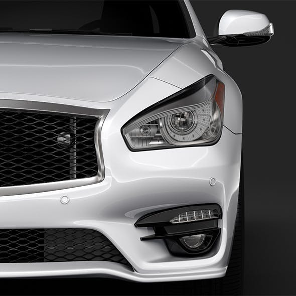 Infinity Q70 Long S 2018 - 3DOcean Item for Sale