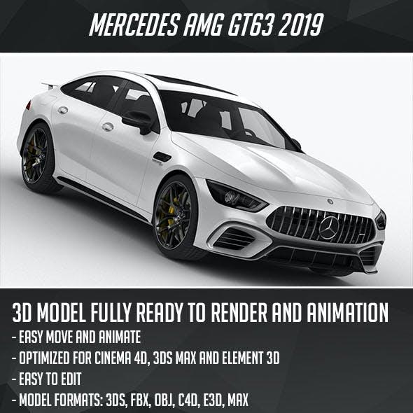 Mercedes AMG GT63 2019