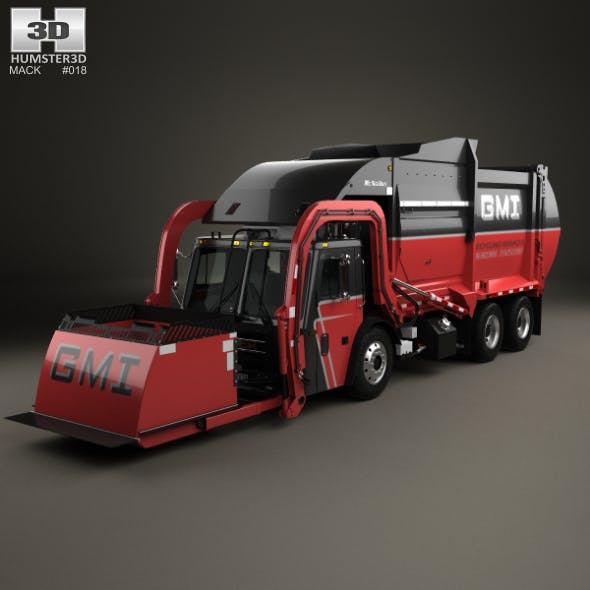 Mack TerraPro Mcneilus Garbage Truck 2016
