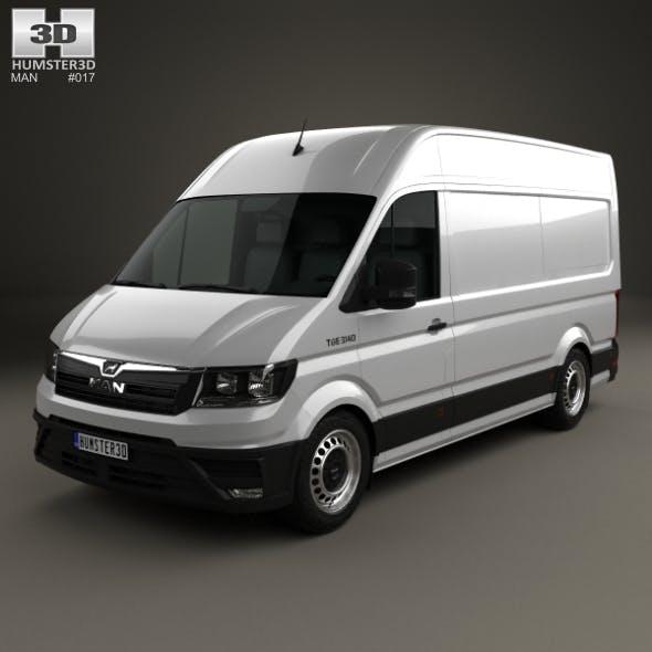 MAN TGE Panel Van L1H2 2017 - 3DOcean Item for Sale