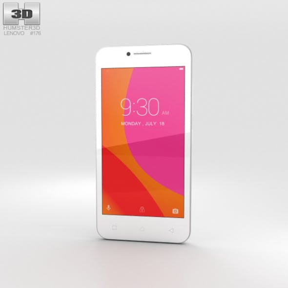 Lenovo A Plus Pearl White - 3DOcean Item for Sale