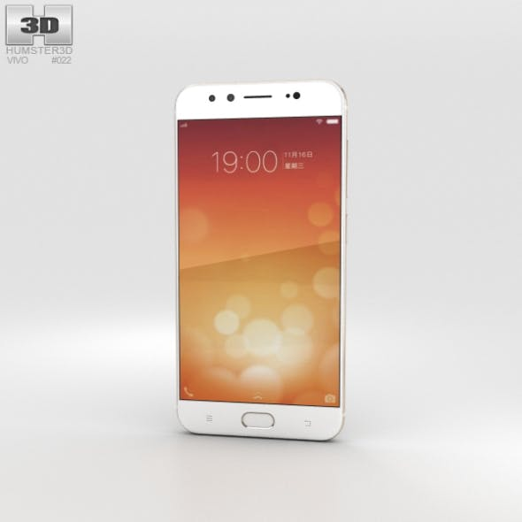 Vivo X9 Gold - 3DOcean Item for Sale