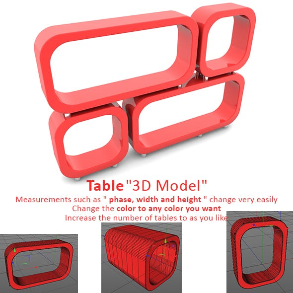 Tables - 3DOcean Item for Sale