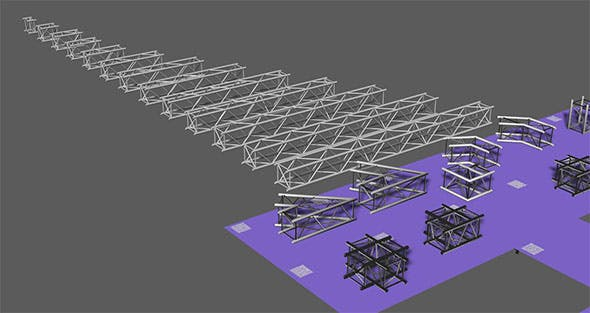 Prolyte H40V trusses - 3DOcean Item for Sale