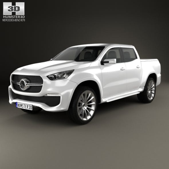 Mercedes-Benz X-class concept stylish explorer 2017 - 3DOcean Item for Sale