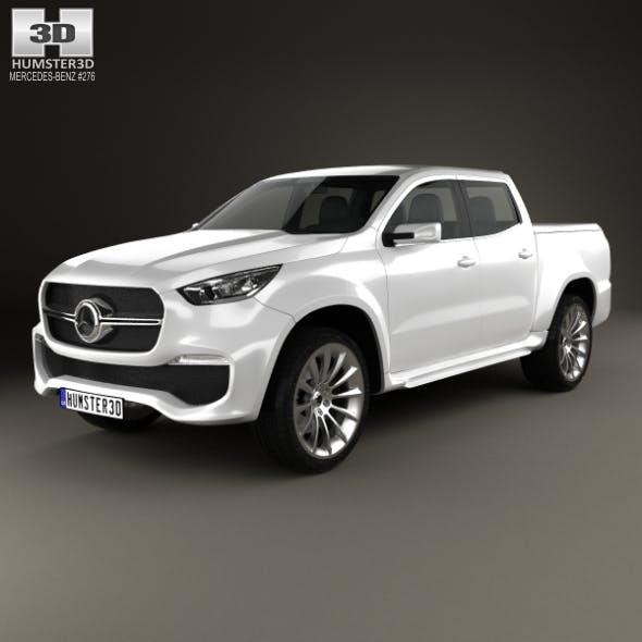Mercedes-Benz X-class concept stylish explorer 2017