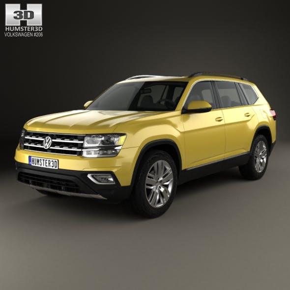 Volkswagen Atlas SEL 2018 - 3DOcean Item for Sale