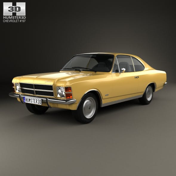 Chevrolet Opala Coupe 1978 - 3DOcean Item for Sale