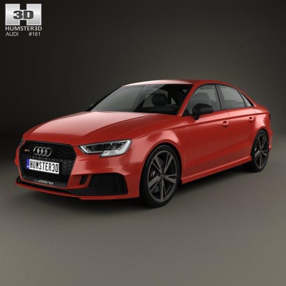 Audi RS3 Sedan 2017 - 3DOcean Item for Sale