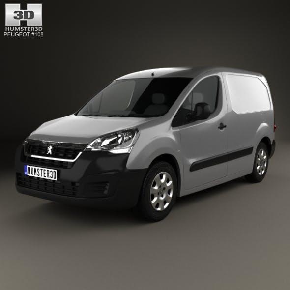 Peugeot Partner Van 2015 - 3DOcean Item for Sale