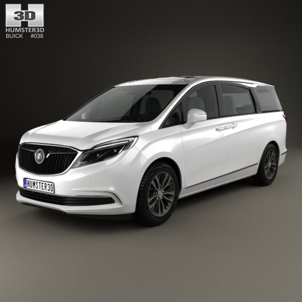 Buick GL8 ES 2016 - 3DOcean Item for Sale