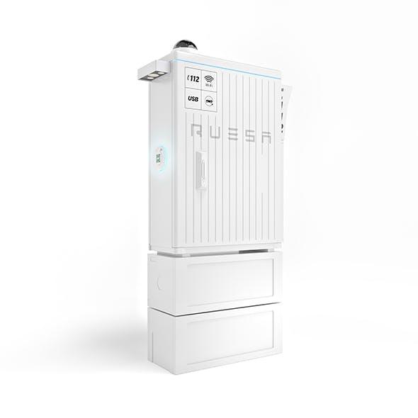 Distribution cabinet - 3DOcean Item for Sale