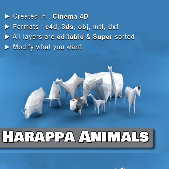 Harappa Animals