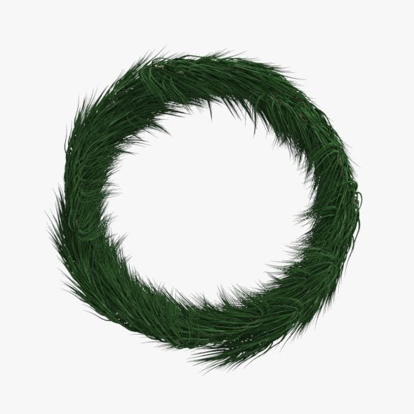 Christmas Wreath Model - 3DOcean Item for Sale