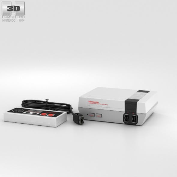 Nintendo Nes Classic Edition - 3DOcean Item for Sale