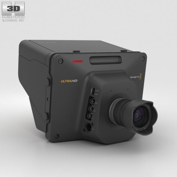 Blackmagic Studio Camera 4K - 3DOcean Item for Sale