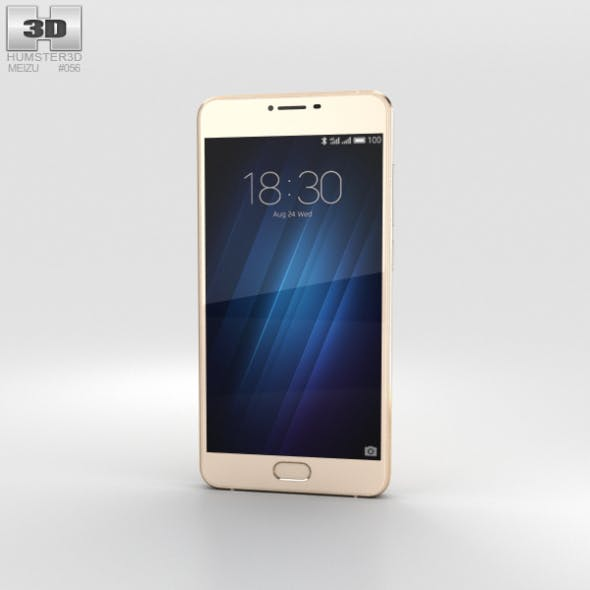 Meizu U10 Shampane Gold - 3DOcean Item for Sale