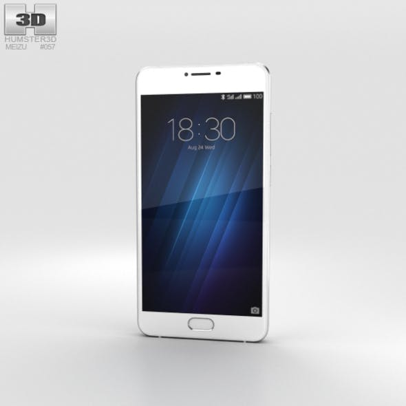 Meizu U10 White - 3DOcean Item for Sale