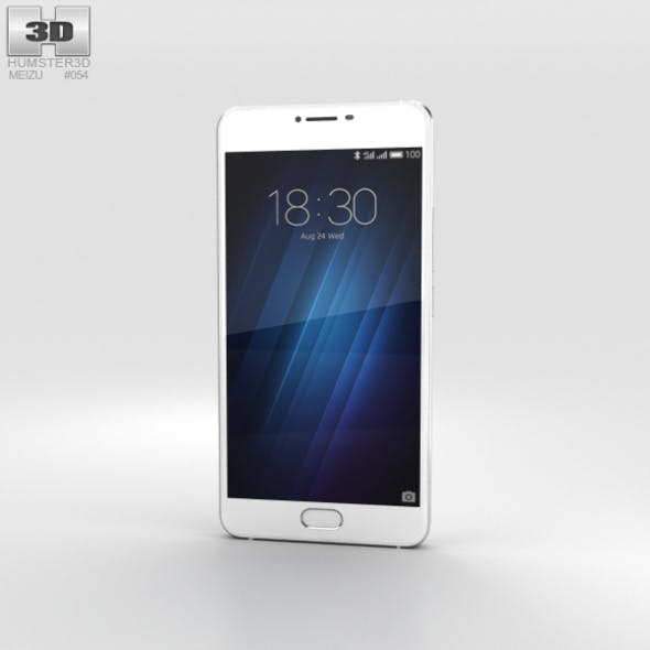 Meizu U20 Silver - 3DOcean Item for Sale