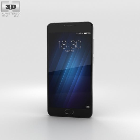Meizu U10 Black - 3DOcean Item for Sale