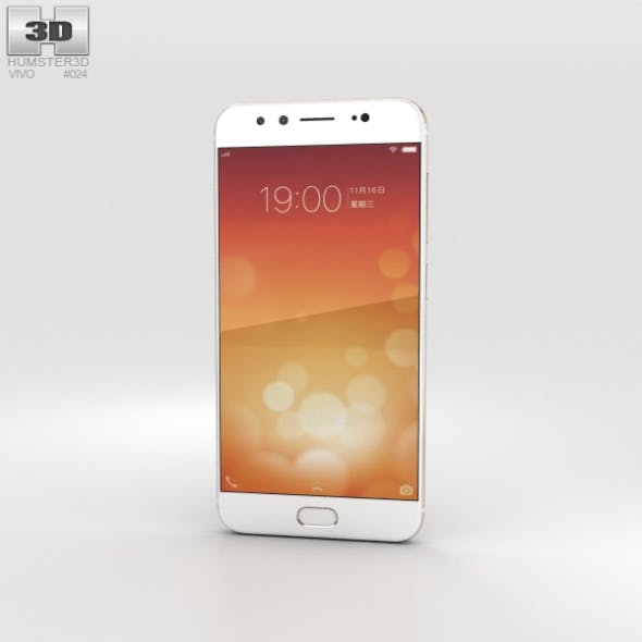 Vivo X9 Plus Gold - 3DOcean Item for Sale