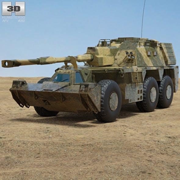 G6 howitzer - 3DOcean Item for Sale