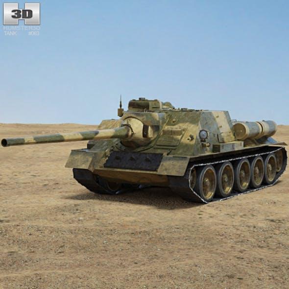 SU-100 - 3DOcean Item for Sale