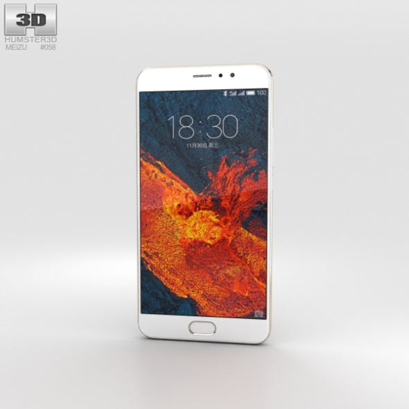 Meizu Pro 6 Plus Gold - 3DOcean Item for Sale