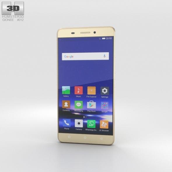 Gionee Marathon M5 Gold - 3DOcean Item for Sale