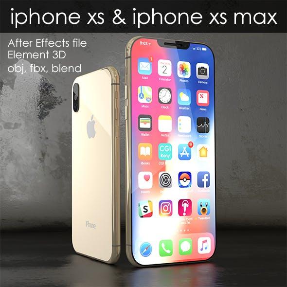 Element 3D- iphone xs & xs max