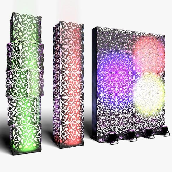 Stage Decor 10 Modular Wall Column