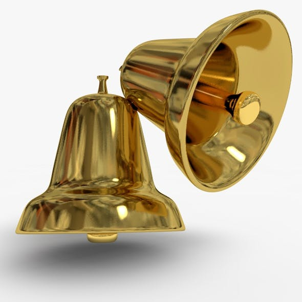 Christmas Bell Model - 3DOcean Item for Sale