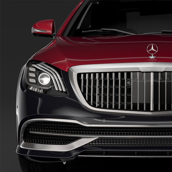 Mercedes Maybach S 560 4Matic X222 2019 - 3DOcean Item for Sale