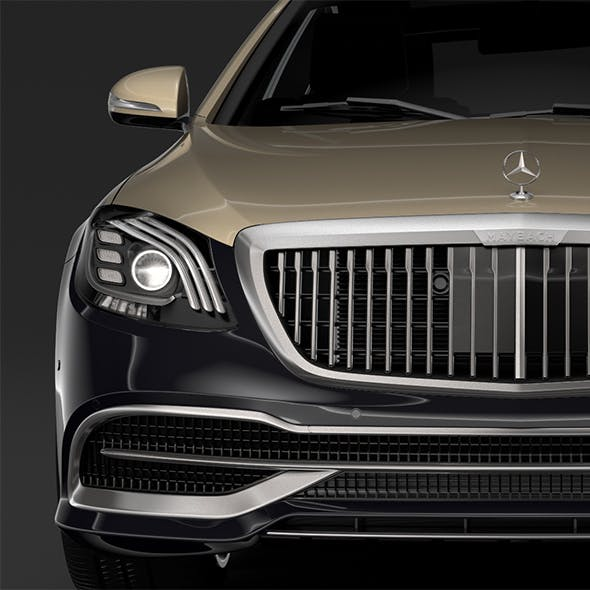 Mercedes Maybach S 560 X222 2019