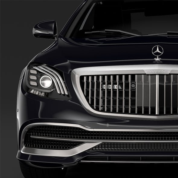 Mercedes Maybach S 650 Guard X222 2019 - 3DOcean Item for Sale