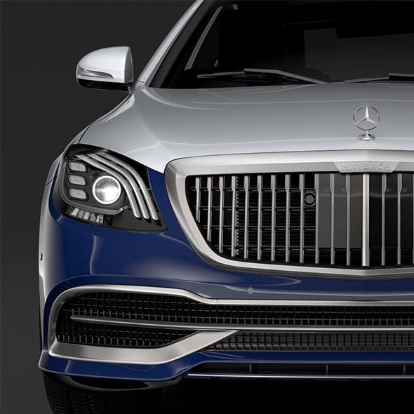 Mercedes Maybach S 650 X222 2019 - 3DOcean Item for Sale