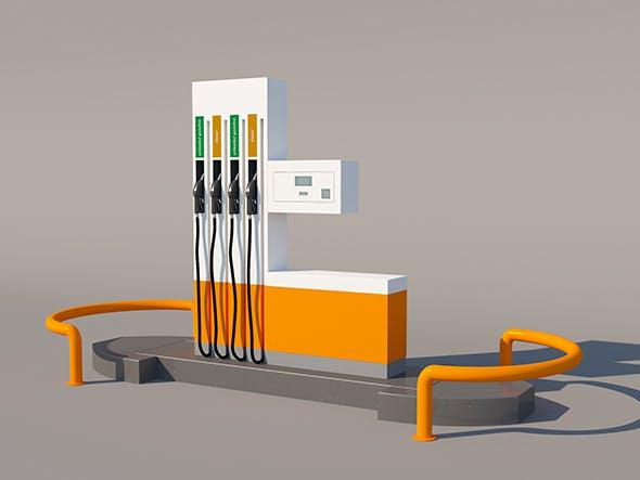 Fuel Dispenser - 3DOcean Item for Sale