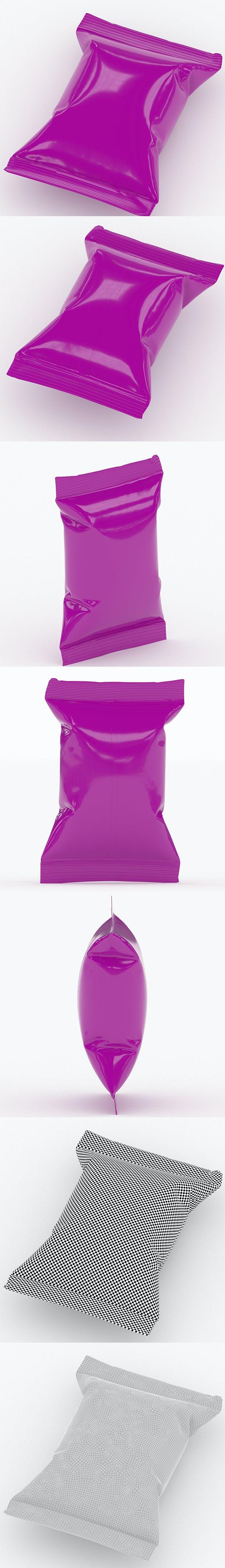Food packaging v5 - 3DOcean Item for Sale