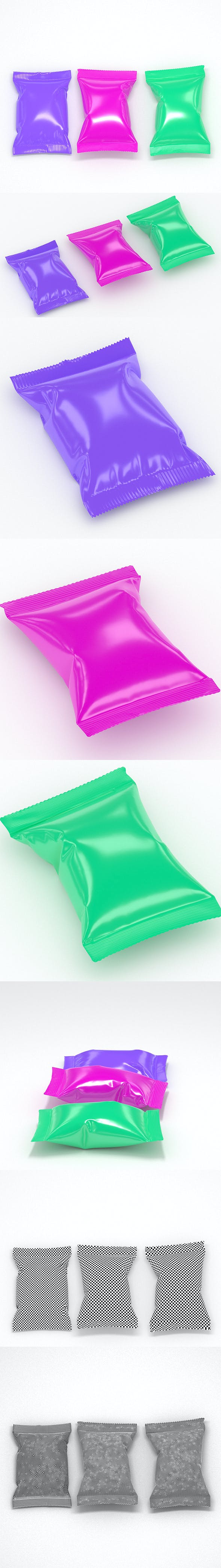Collection Food packaging v7 - 3DOcean Item for Sale