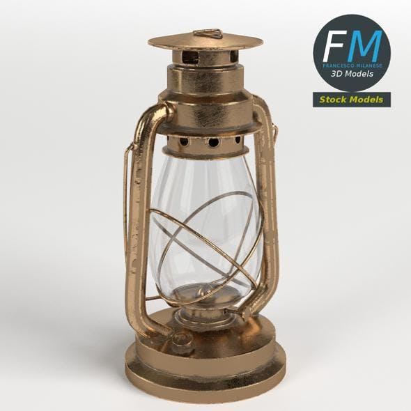 Kerosene Lamp - 3DOcean Item for Sale