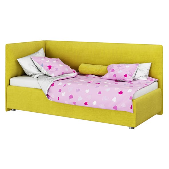 Bed Stella - 3DOcean Item for Sale