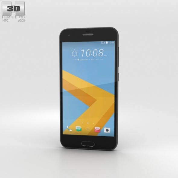 HTC One A9s Black - 3DOcean Item for Sale