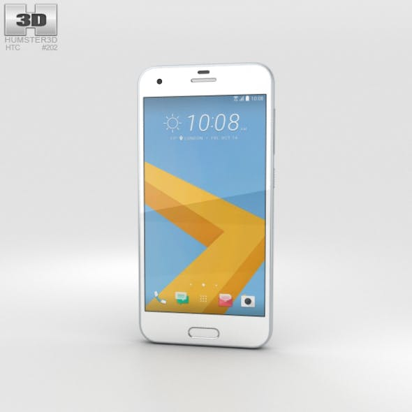HTC One A9s Silver - 3DOcean Item for Sale