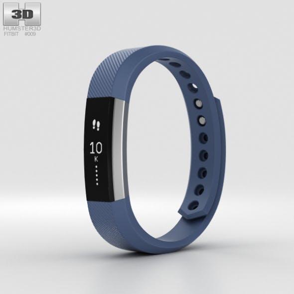 Fitbit Alta Blue/Silver - 3DOcean Item for Sale