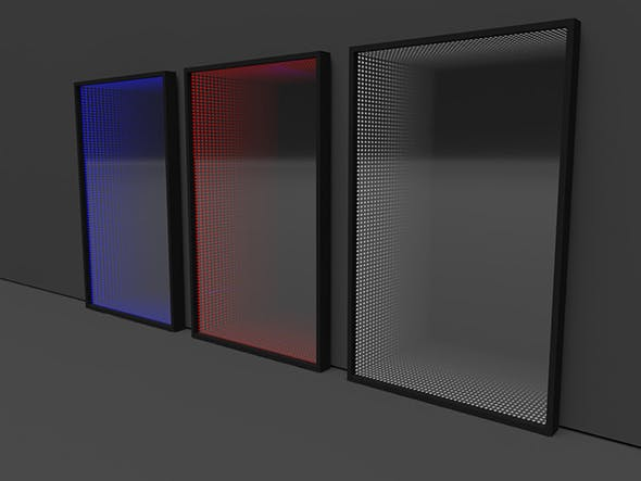 3D infinity mirror - 3DOcean Item for Sale