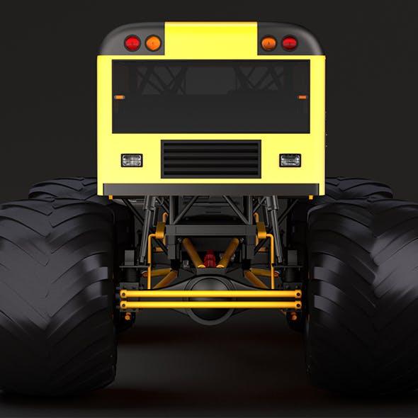 Monster Truck School Bus