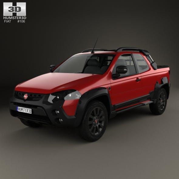 Fiat Strada Adventure CD Extreme 2015 - 3DOcean Item for Sale