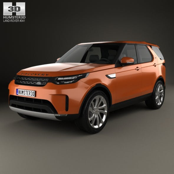 Land Rover Discovery HSE 2017 - 3DOcean Item for Sale