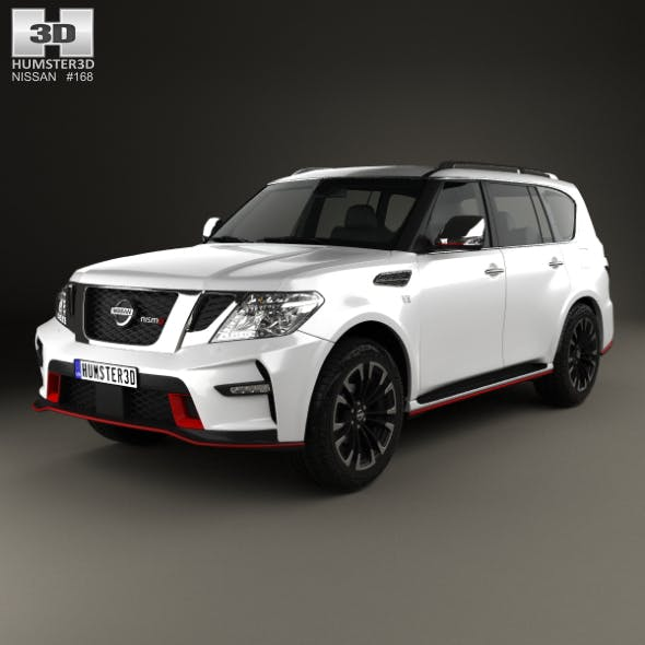 Nissan Patrol Nismo 2014 - 3DOcean Item for Sale